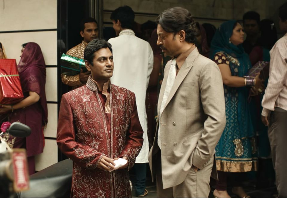Nawazuddin Siddiqui and Irrfan in a still from 'The