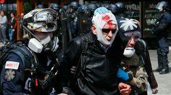Επεισόδια στο Παρίσι - Άγριες συγκρούσεις του «μαύρου μπλόκου» με την