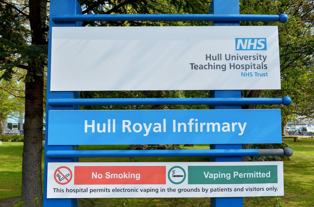 "A spokeswoman for Hull University Teaching Hospitals NHS Trust said they were ""shocked"" by the incident (SWNS)"