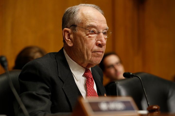 Senate Finance Chair Chuck Grassley (R-Iowa) asked the IRS for all returns from the group ACORN, which helped register voters