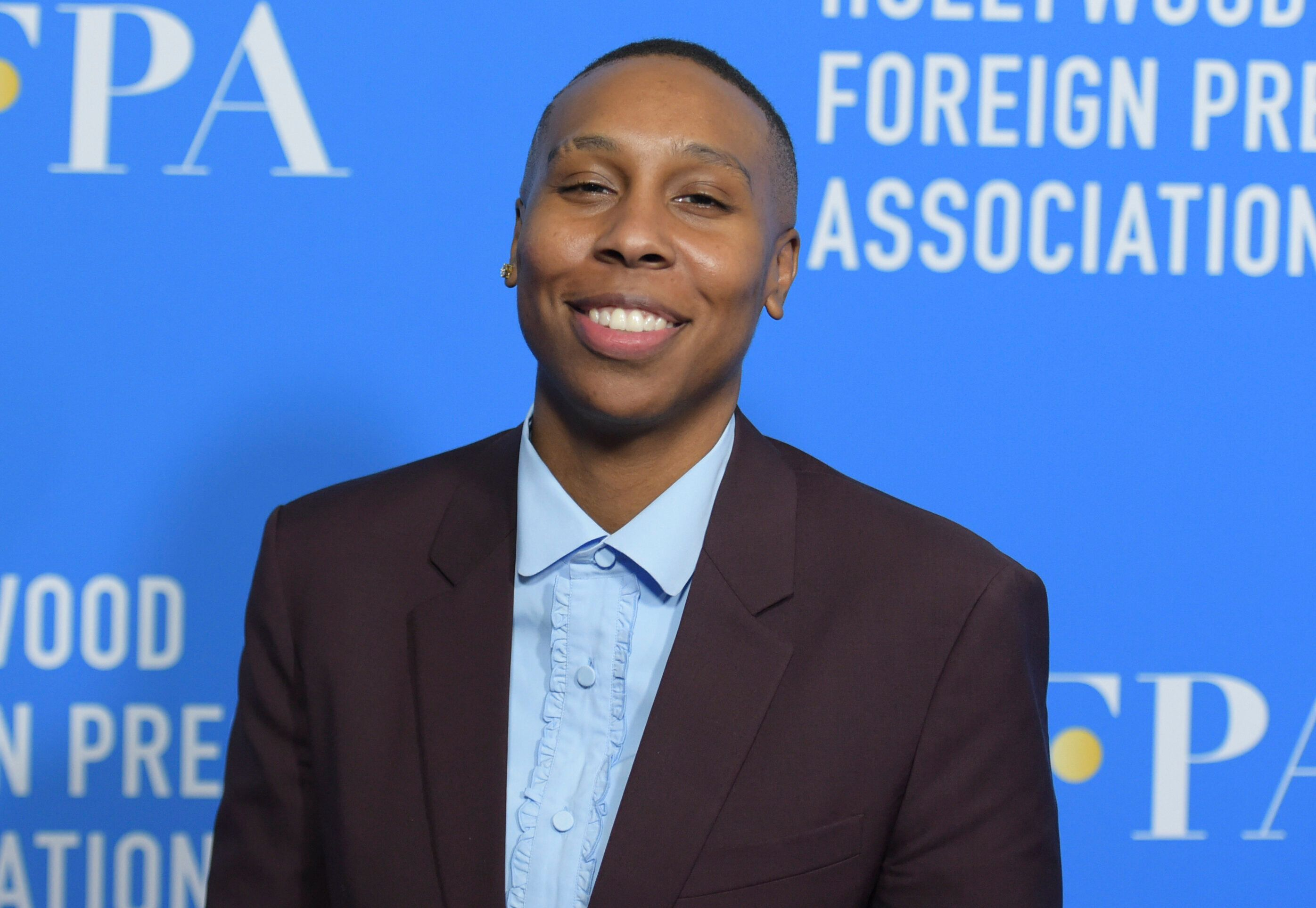 Lena Waithe arrives at the Hollywood Foreign Press Association Grants Banquet at The Beverly Hilton hotel on Thursday, Aug. 9, 2018, in Beverly Hills, Calif. (Photo by Richard Shotwell/Invision/AP)