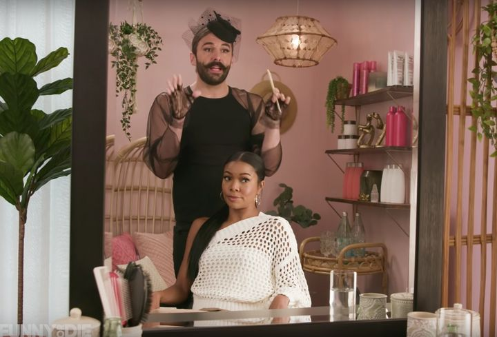 """Jonathan Van Ness and Gabrielle Union discuss the latest epic battle as they chat on """"Gay of Thrones."""""""