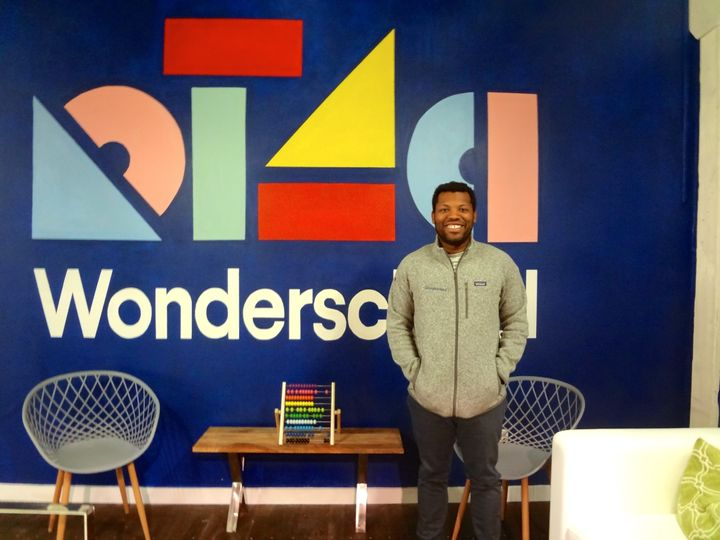 Wonderschool CEO Chris Bennett at the start-up's San Francisco headquarters.