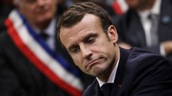 Macron souhaite un bon 1er mai à ceux
