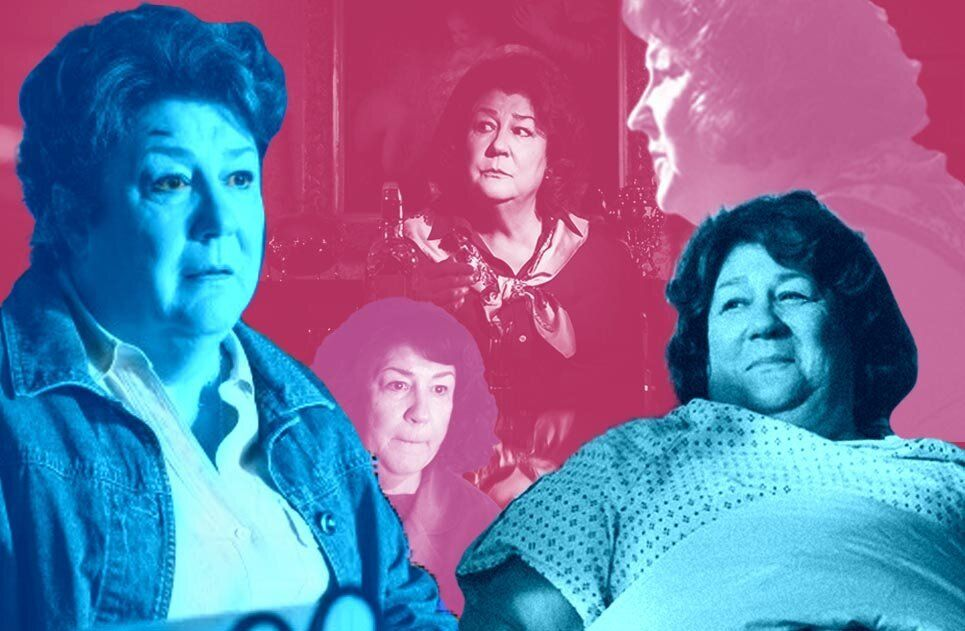 "Margo Martindale, who stars in the new indie crime comedy ""Blow the Man Down,"" has been a scene stealer in countless movies a"