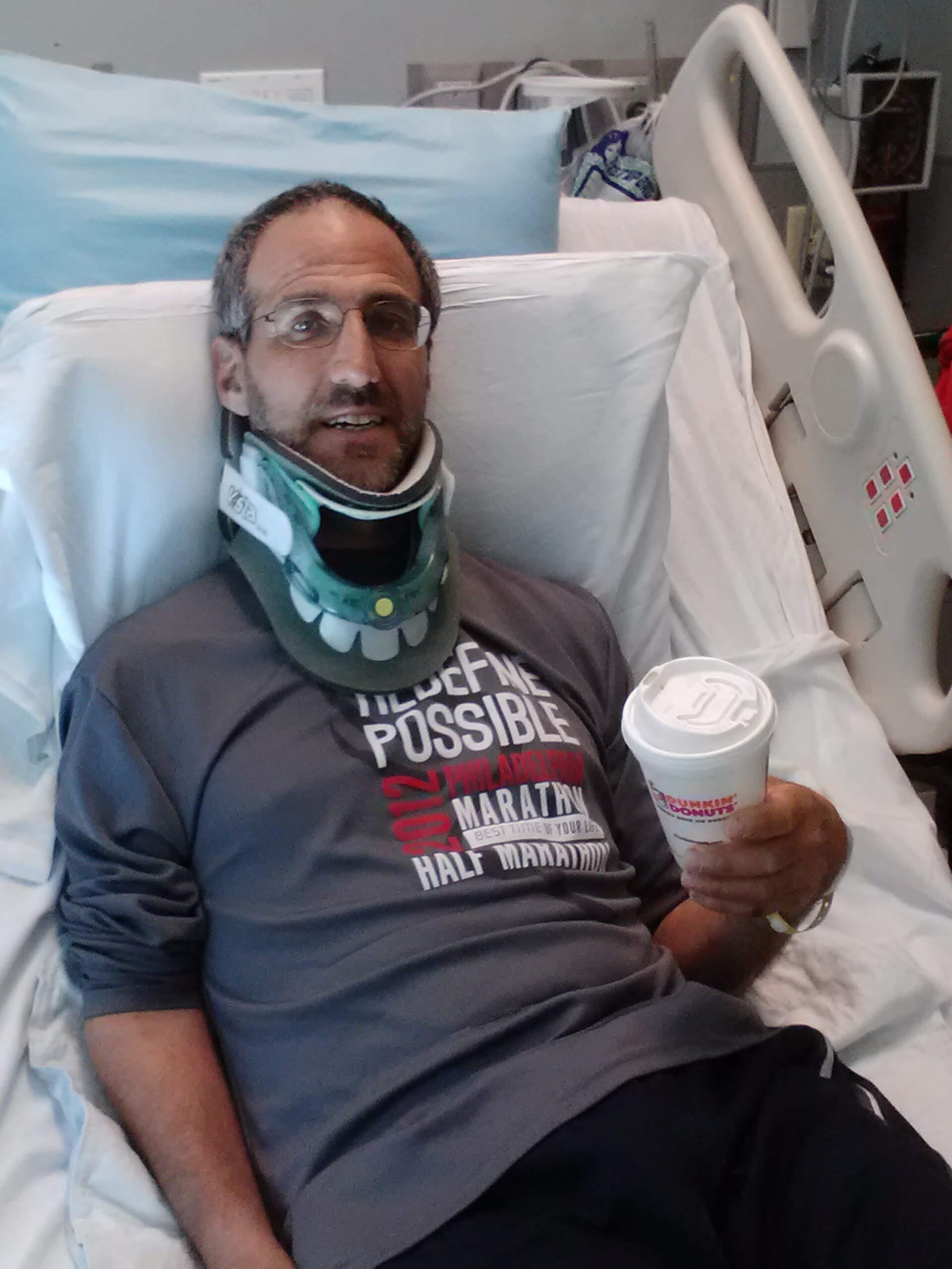Rosenberg after his injury in 2013.
