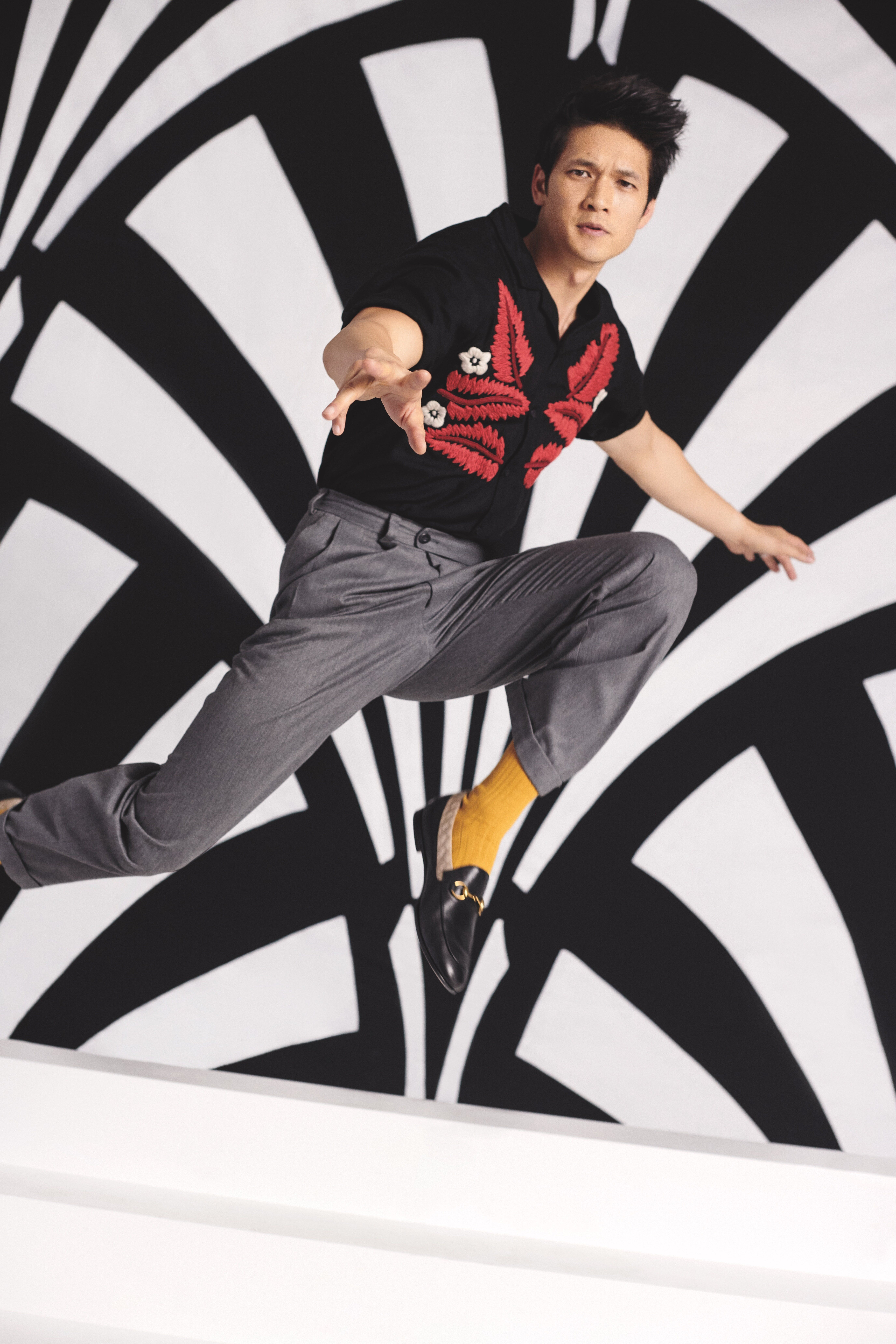 """I credit dance, specifically the many forms of hip-hop styles, to feeling like I belonged in a group,"" says Harry Shum"