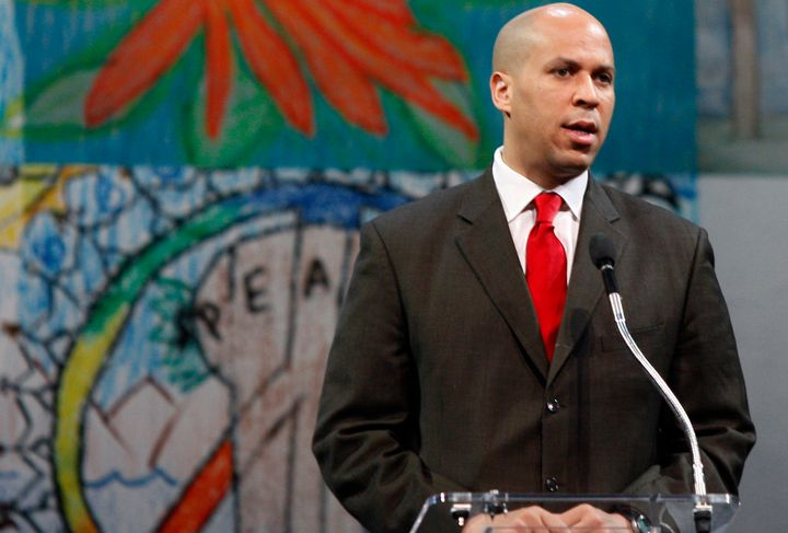 As mayor of Newark, N.J., Cory Booker spoke eight years ago at Willow Creek, a church based in Illinois with a record of disc