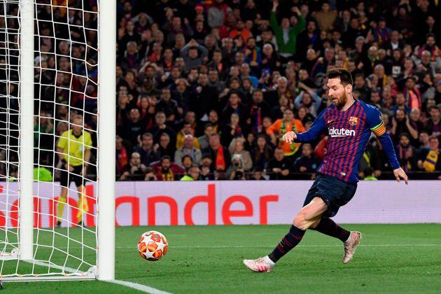 Messi saca al Barça del apuro ante el Liverpool