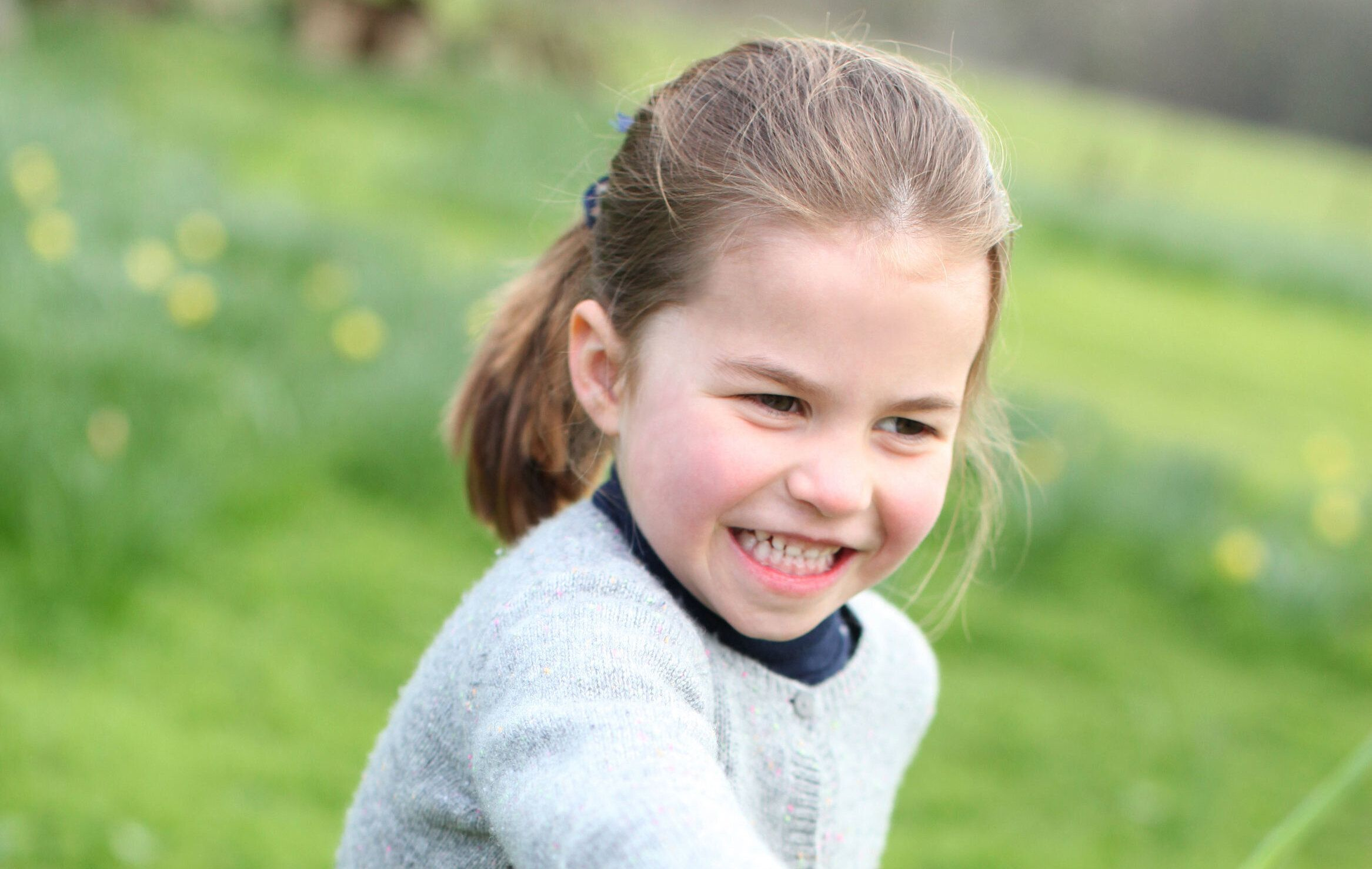 Three new photos of Charlotte have been released to mark her fourth birthday [Photo: The Duchess of Cambridge]