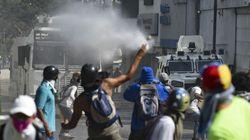 베네수엘라 야권 지도자 과이도가 '군사봉기'를