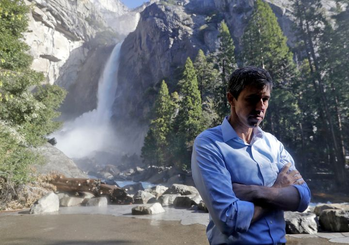 O'Rourke announced a $5 trillion climate change plan at Yosemite National Park earlier this week, although some other Democra
