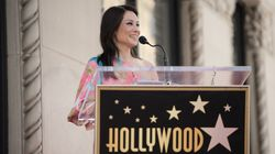 Asian Americans Stan Lucy Liu Receiving Walk Of Fame Star Next To Anna May
