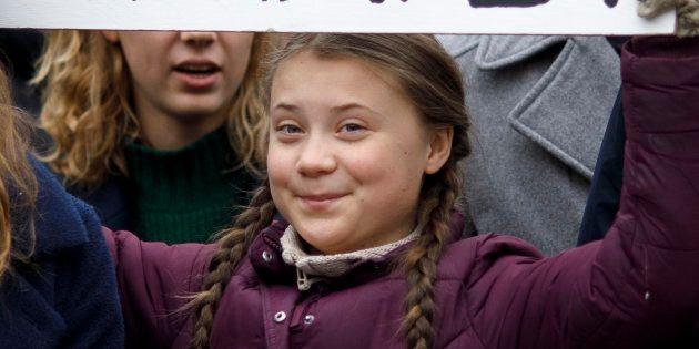 Greta Thunberg e il pesce d'Aprile su Twitter: