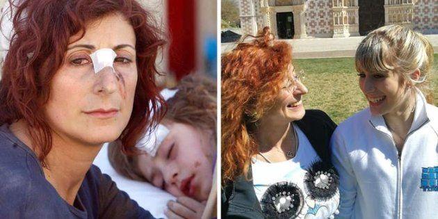 Madre e figlia, 10 anni dopo il terremoto dell'Aquila, ricreano la foto
