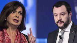 Salvini attacca Boldrini. Lei lo trolla in modo