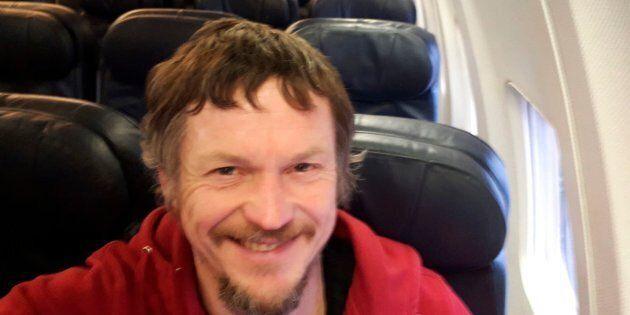 Un uomo lituano è stato l'unico passeggero di un Boeing 737 diretto in Italia da