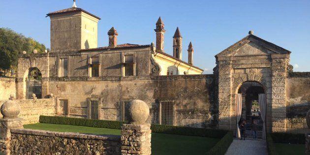Una villa storica di proprietà privata in