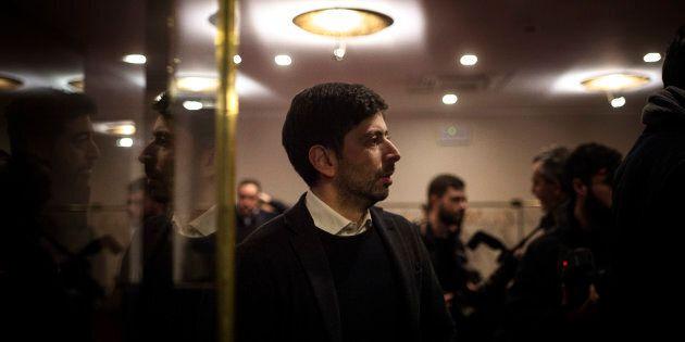 ROME, ITALY - FEBRUARY 04: Roberto Speranza, 'Libera e Uguali' left-wing political party, takes part...