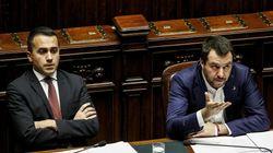 Salvini e Di Maio: parole sparate, parole