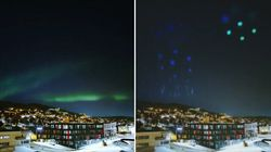 Luci straordinarie nell'aurora boreale. Ma c'è