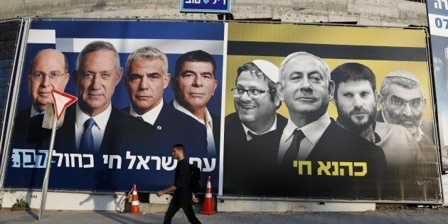 In Israele testa a testa fra Benjamin Netanyahu e Benny Gantz, dichiarano entrambi