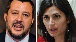 Salvini pregusta un sindaco leghista nella Capitale: