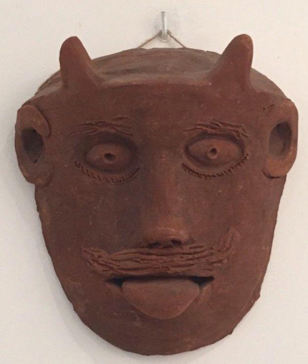 Maschera apotropaica, Casa della cultura di