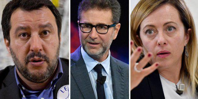 Salvini e Meloni contro