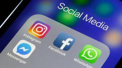 Facebook, Instagram e WhatsApp, non più