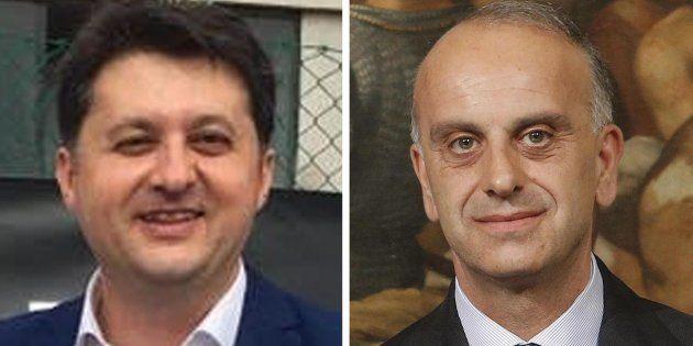 Da sinista Luca Barberini, assessore alla Salute della Regione Umbria, e Gianpiero Bocci, segretario...