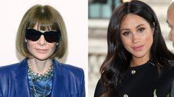La regina di Vogue Anna Wintour svela cosa pensa davvero dello stile di Meghan