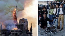Incendio a Notre Dame: in fumo un pezzo