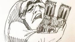 Il dolore per l'incendio di Notre Dame è tutto in questo