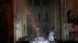 Cosa resta di Notre Dame: le prime immagini