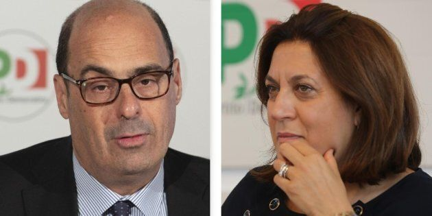 Nicola Zingaretti e Catiuscia
