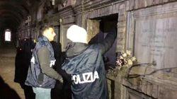 110mila dosi di cocaina nei loculi del cimitero di Roma: arresto un