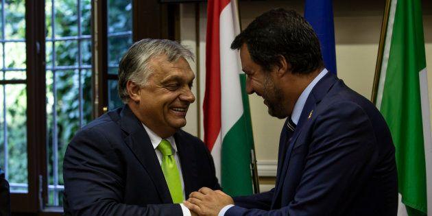 Matteo Salvini da Viktor Orban il 2 maggio: un gancio nel Ppe per l'intesa