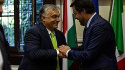 Il rush finale di Salvini parte da Orban il 2 maggio: un gancio nel Ppe per l'intesa popolari-populisti (di A.