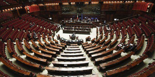 Aula della Camera dei deputati.