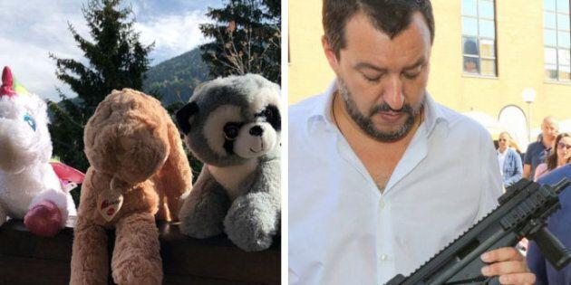 Matteo Salvini non scarica Luca