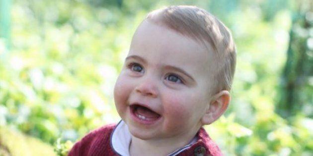 Le foto di Louis per il suo primo compleanno, scattate da mamma