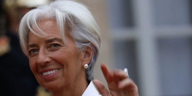 Christine Lagarde a Elle: