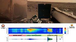 La Nasa ha registrato per la prima volta il rumore di un terremoto su