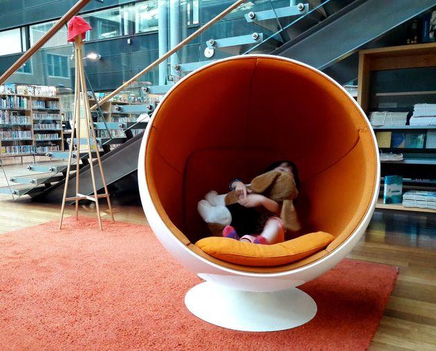 도서관 방문자라면 누구나 즐길 수 있는 아라비안란따 도서관의 볼