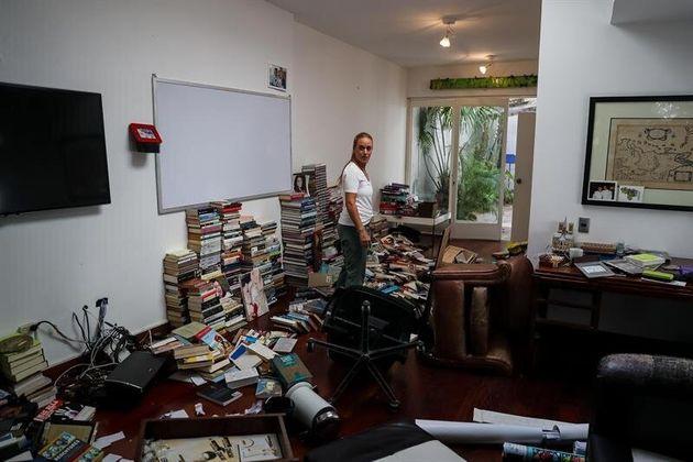 Allanan y roban la casa de Leopoldo López en