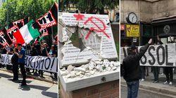 Il 25 Aprile oltraggiato. Neofascisti in tutta Italia (di F.
