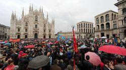 A Milano in 70mila per il 25
