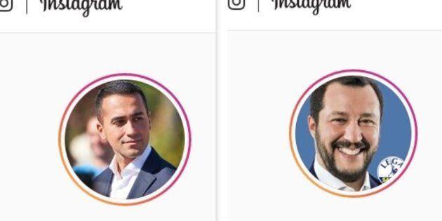 Luigi Di Maio e Matteo Salvini, è