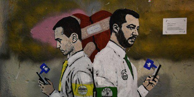 Defollowed! il dito furibondo di Di Maio e Salvini sul